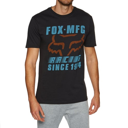 Fox Racing Zoomin Premium T-Shirt Korte Mouwen - Black