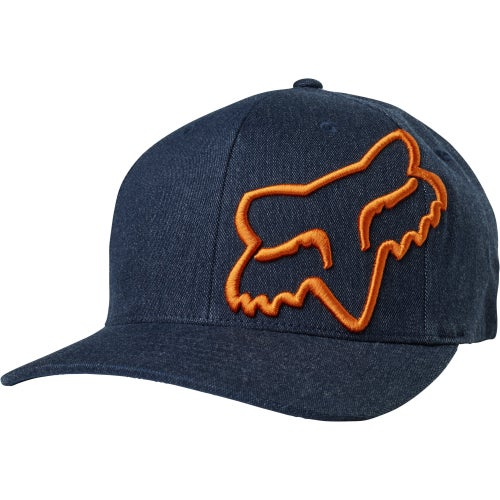 Fox Racing Clouded Flexfit , Cap - Navy
