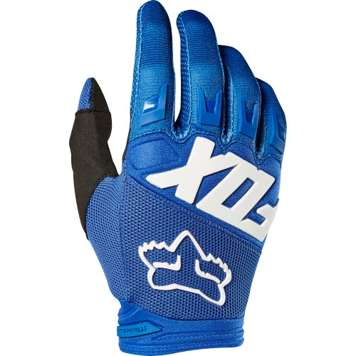 Fox Racing Dirtpaw Bike Gloves - Blu