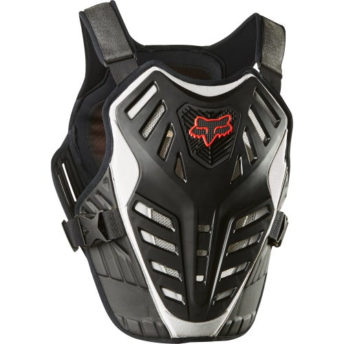 Fox Racing Titan Race Subframe CE Chest Protection - Blk/slv