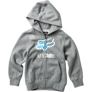 Fox Racing YOUTH Backdrafter Zip Hoody - Grey