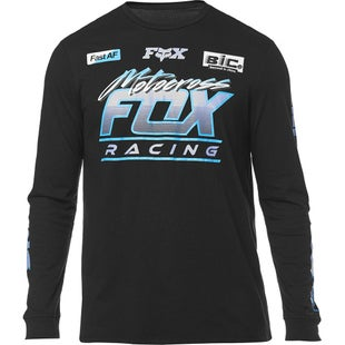 Fox Racing Jetskee Long Sleeve T-Shirt - Black