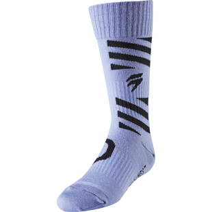 Shift Whit3 Label YOUTH Enduro and MX Boot Socks - Purple
