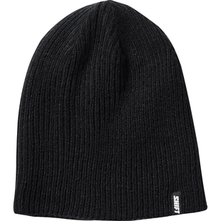 Shift Track Reversible Beanie - Black