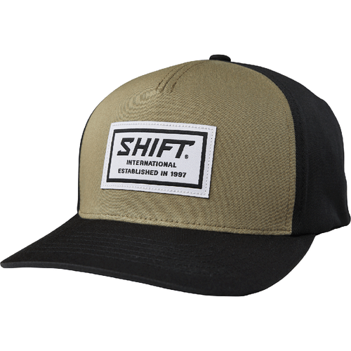 Shift Muse Snapback Kasket - Fatigue Green