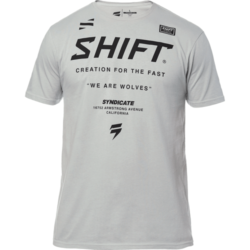 Shift Corp Muse Short Sleeve T-Shirt - Grey