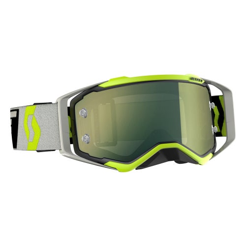 Scott Sports Prospect Motocross Goggles - Black Flou Yellow ~ Yellow Chrome
