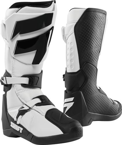 Shift Whit3 Label Motocross Boots - White