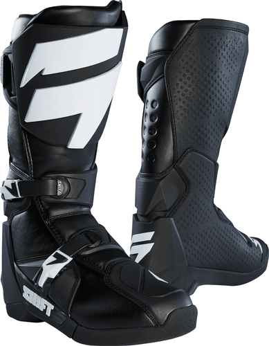 Shift Whit3 Label Motocross Boots - Black