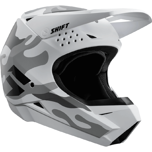 Shift Whit3 Label Enduro Motocross Helmet - White Camo