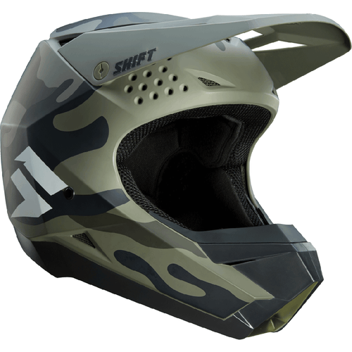 Shift Whit3 Label Enduro MX Hjelm - Camo