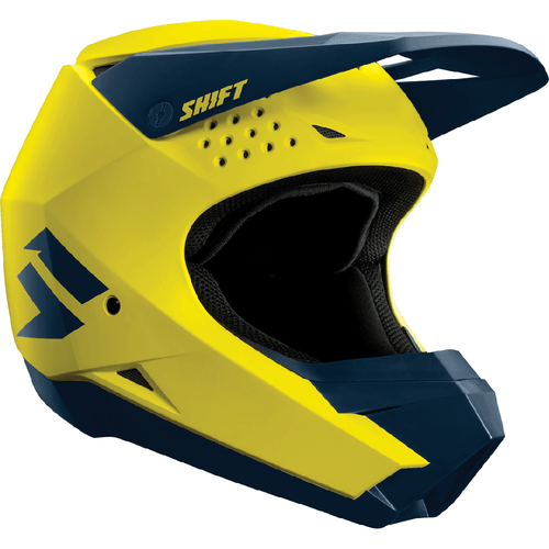 Casque MX Shift Whit3 Label Enduro - Yellow
