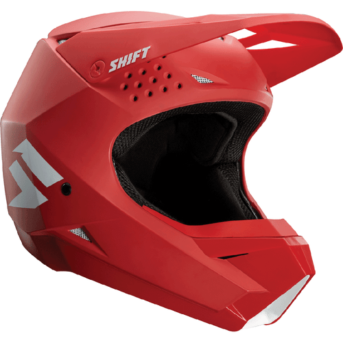 Shift Whit3 Label Enduro Motocross Helmet - Red