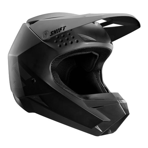 Shift Whit3 Label Enduro Motocross Helmet - Matte Black