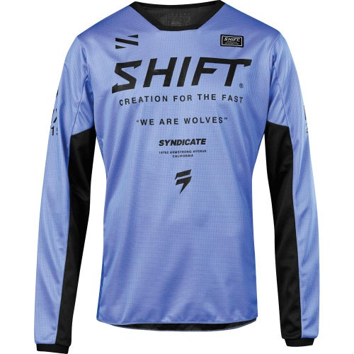 Shift Whit3 Label Muse Enduro Motocross Jerseys - Purple