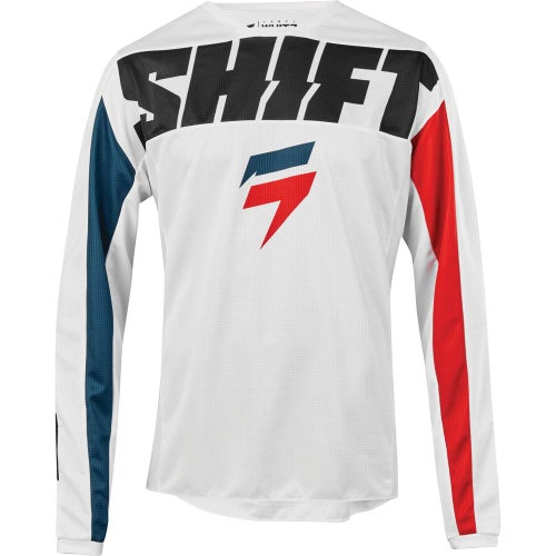 Shift Whit3 Label York Enduro and Motocross Jerseys - White