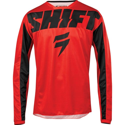 Shift Whit3 Label York Enduro and Motocross Jerseys - Red
