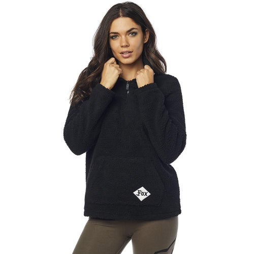 Fox Racing Supercharged Pullover Hoody - Black