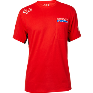 Fox Racing HRC Airline Short Sleeve T-Shirt - Red