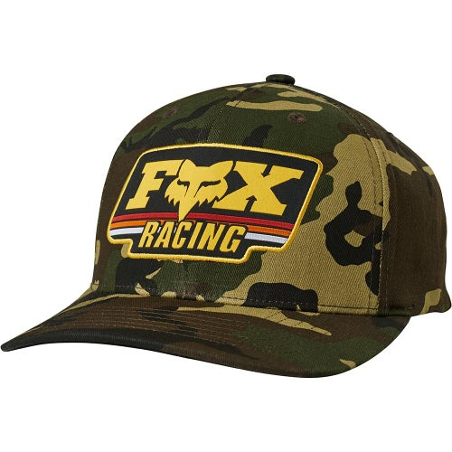 Fox Racing Throwback 110 Snapback Cap - Camouflage