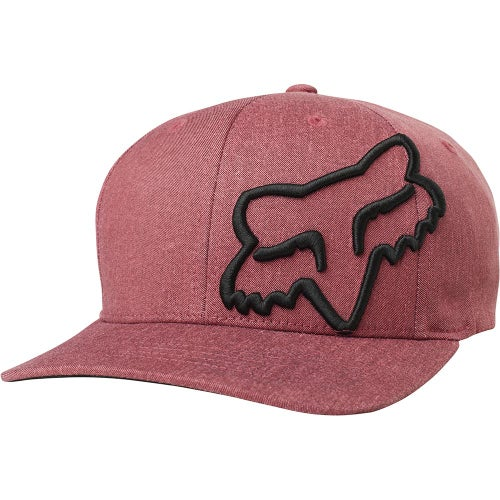 Fox Racing Clouded Flexifit Boys Cap - Cardinal