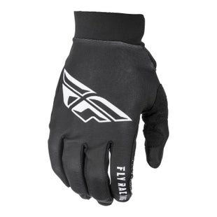 Fly Pro Lite Gloves Motocross Gloves - Black White