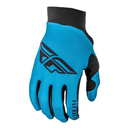 Fly Pro Lite Gloves Motocross Gloves - Blue Black