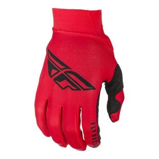 Fly Pro Lite Gloves Motocross Gloves - Red Black