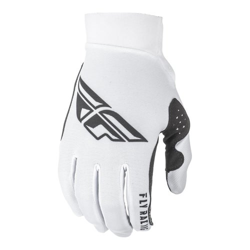 Fly Pro Lite Gloves Motocross Gloves - White