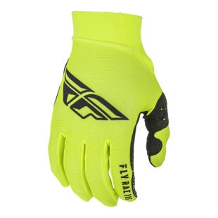 Fly Pro Lite Gloves Motocross Gloves - Hi-vis Black