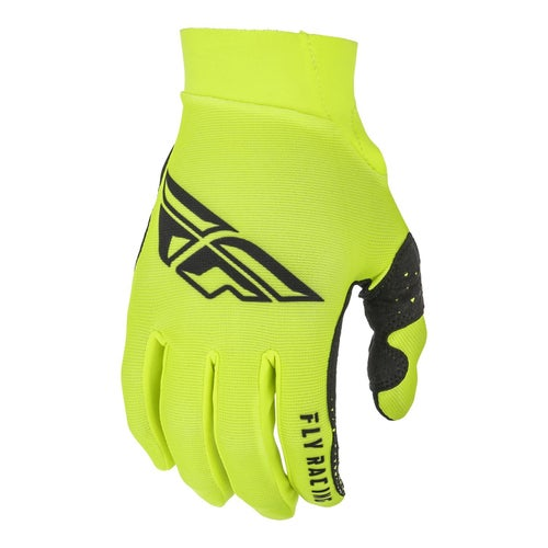 Fly Pro Lite Gloves MX Glove - Hi-vis Black