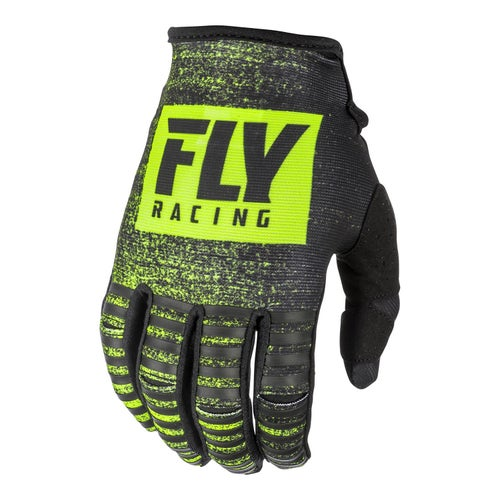 Fly Kinetic Noiz Gloves MX Glove - Black hi-vis