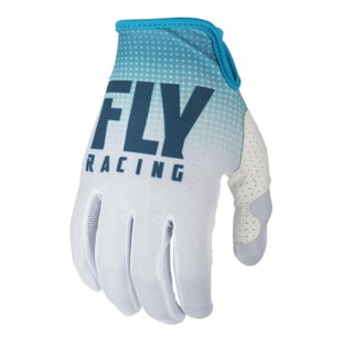 Fly Lite Hydrogen Gloves MX Glove - Blue White