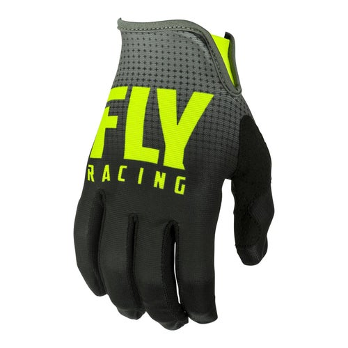 Fly Lite Hydrogen Gloves Motocross Gloves - Black hi-vis