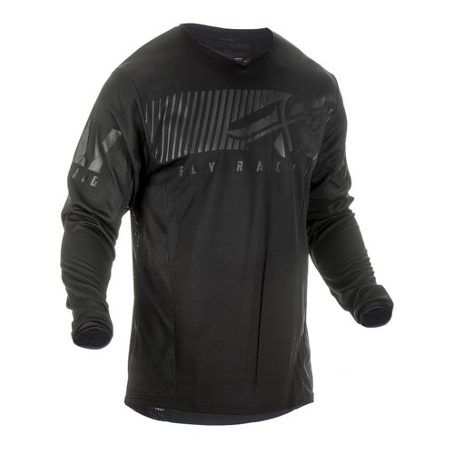 Fly Kinetic Shield Jersey Motocross Jerseys - Black