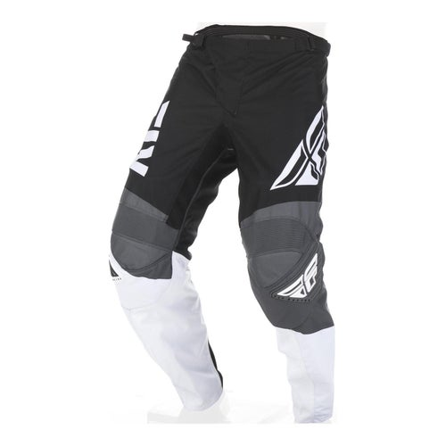 Fly F-16 Pants MX Hosen - Black White Grey