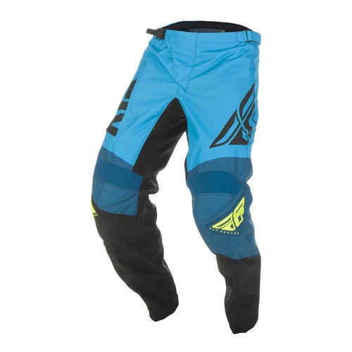 Fly F-16 Pants MX Hosen - Blue Black hi-vis