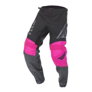 Fly F-16 Pants MX Kalhoty - Neon Pink Black Grey