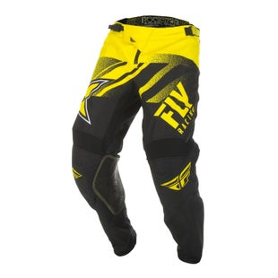 Fly Kinetic Rockstar Pants MX Kalhoty - Yellow Black