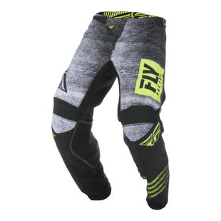 Fly Kinetic Noiz Pants MX Kalhoty - Black hi-vis