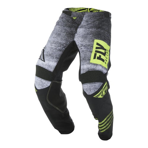 Fly Kinetic Noiz Pants MX Hosen - Black hi-vis