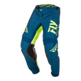 Fly Kinetic Shield Pants MX Kalhoty - Navy hi-vis