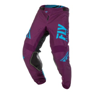 Fly Kinetic Shield Pants MX Kalhoty - Port Blue