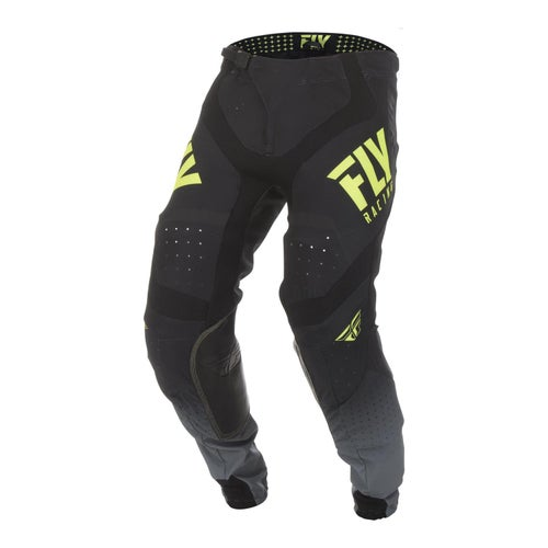 Fly Lite Hydrogen Pants MX Hosen - Black hi-vis