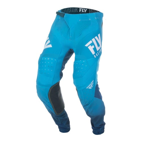 Fly Lite Hydrogen Pants MX Hosen - Blue White