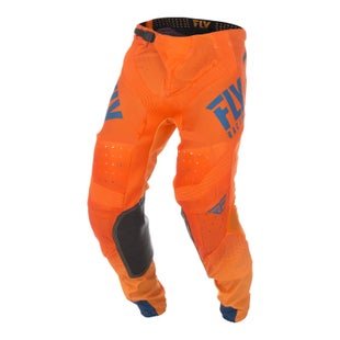 Fly Lite Hydrogen Pants MX Kalhoty - Orange Navy