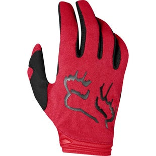 Fox Racing Dirtpaw Mata Enduro Race Motocross Gloves - Flame Red