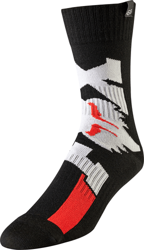 Fox Racing Cota Boys MX Boot Socks - Black