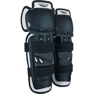 Fox Racing Titan Sport MX Shin and Boys Knee Protection - Black
