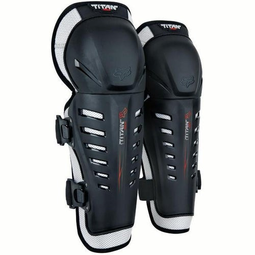 Fox Racing Titan Race Shin and Boys Knee Protection - Black